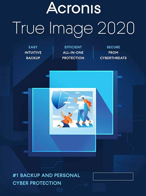 Acronis True Image Premium - 3 PC + 1 To Acronis Cloud Storage - 1 an Abonnement