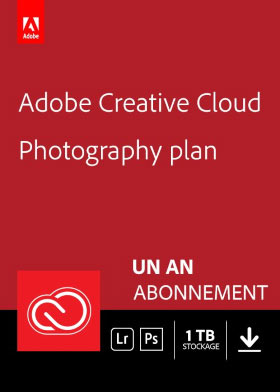 Adobe Creative Cloud Photographie - 1 To