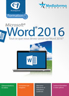 Formation à Word® 2016