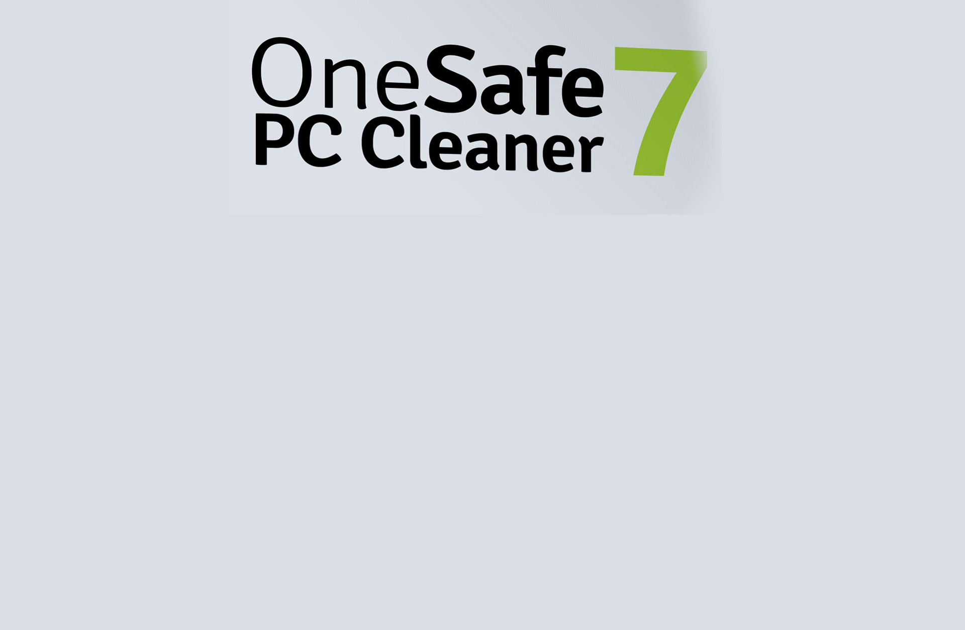 OneSafe PC Cleaner 7