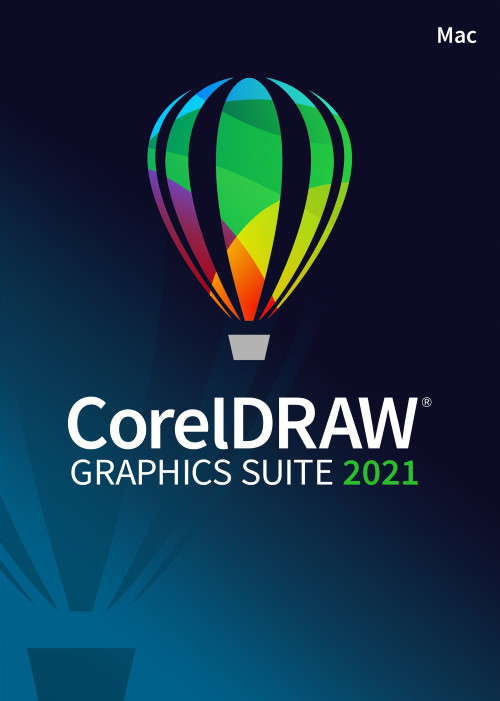 CorelDRAW Graphics Suite 2021 Mac