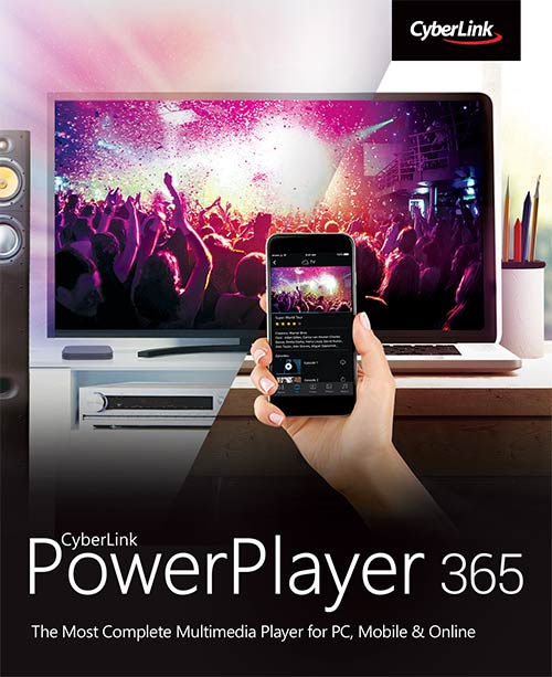 Cyberlink PowerPlayer 365 - 1 year