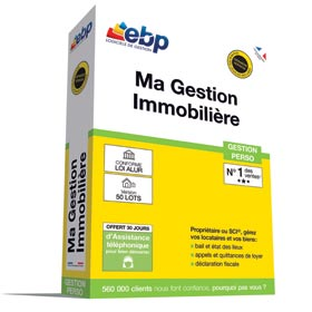EBP Ma Gestion Immobilière version 50 Lots - 2019