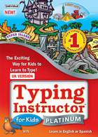 Typing Instructor for Kids Platinum 5 - Windows, UK/UK Keyboard
