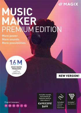 MAGIX Music Maker Premium 2019