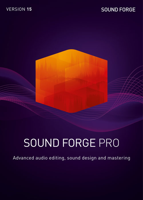 SOUND FORGE Pro 15