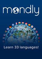 Mondly Premium 33 langues - Abonnement à vie