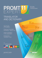 PROMT Expert 11 (French Multilingual)