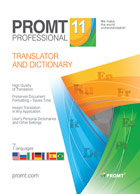 PROMT Professional 11 (French Multilingual)