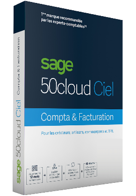 Sage 50cloud Ciel Compta + Facturation - 1 an d'assistance