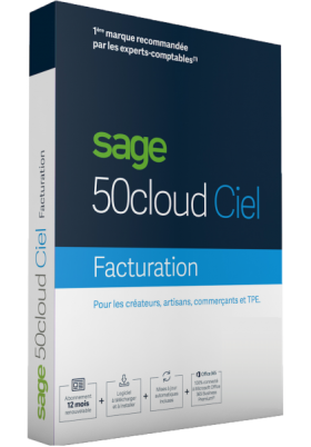 Sage 50cloud Ciel Facturation - 1 an d'assistance