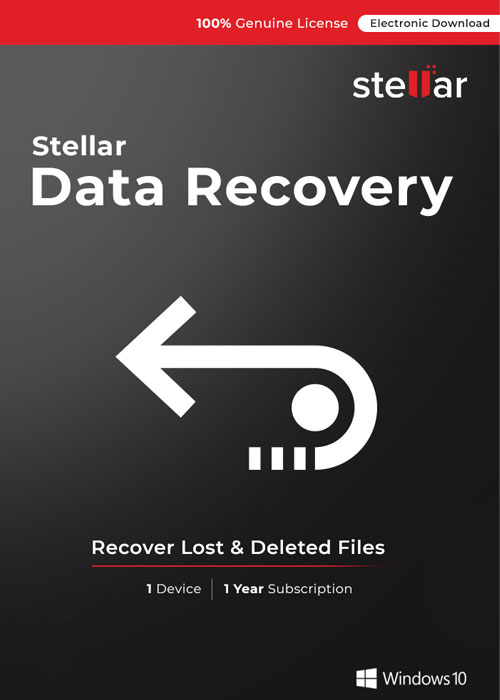 Stellar Data Recovery Standard for Windows V10