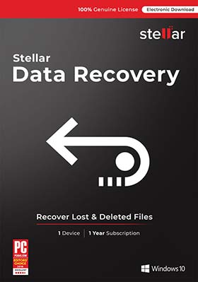 Stellar Data Recovery Professional - Windows v9