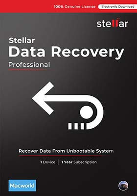 Stellar Data Recovery Professional for Mac V10.0