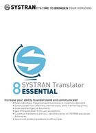 SYSTRAN 8 Translator Essential - Français <> Anglais
