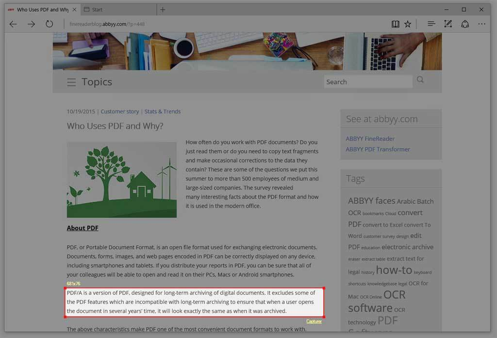 ABBYY FineReader 14 Corporate screenshot 9