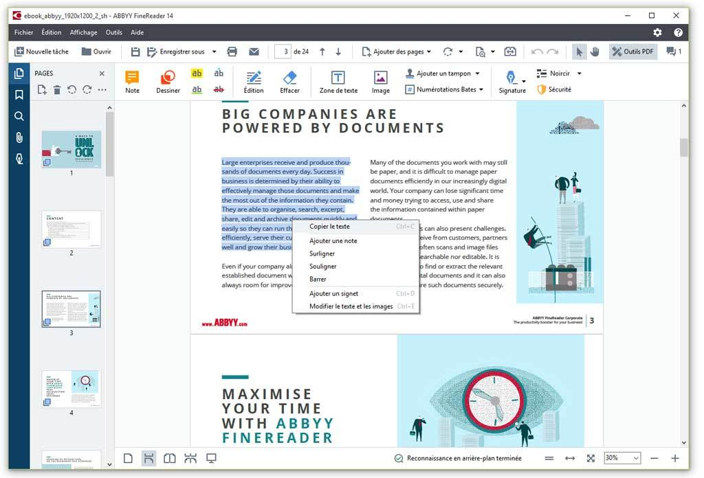ABBYY FineReader 14 Corporate screenshot 14