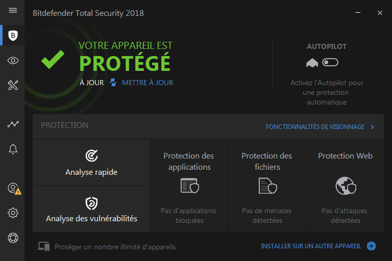 Bitdefender Total Security 2018 screenshot 1