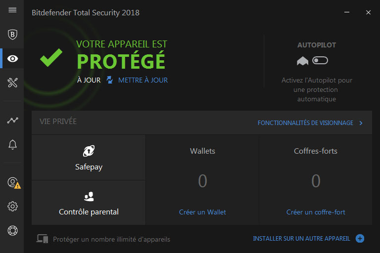 Bitdefender Total Security 2018 screenshot 2