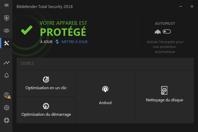 Bitdefender Total Security 2018 screenshot 3