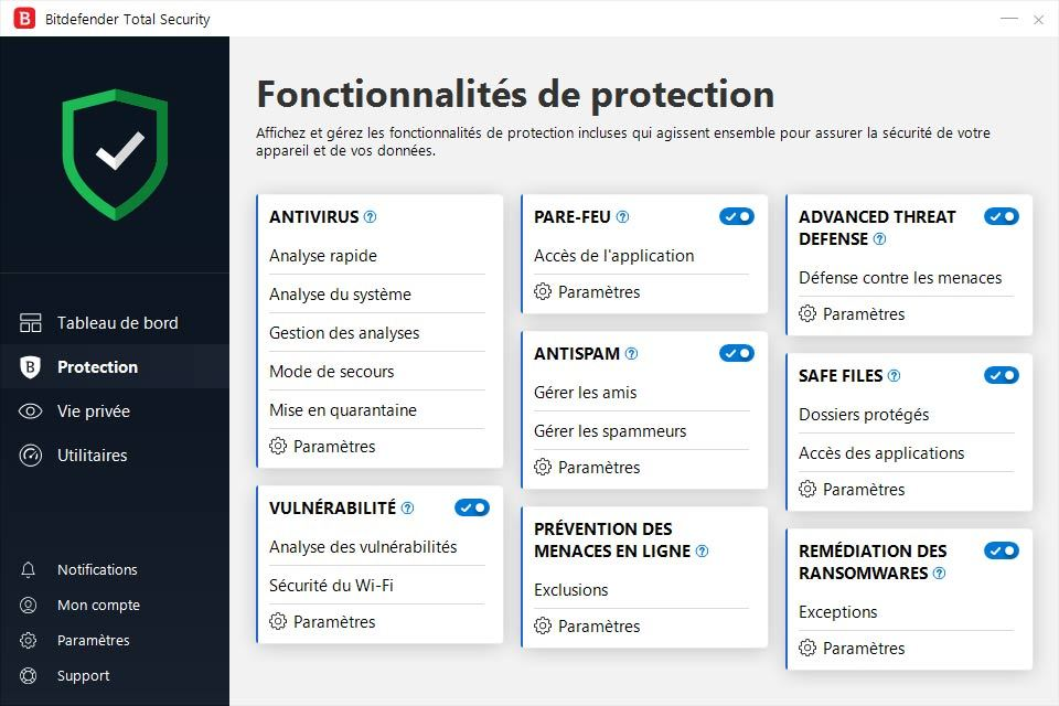 Bitdefender Total Security 2019 screenshot 2