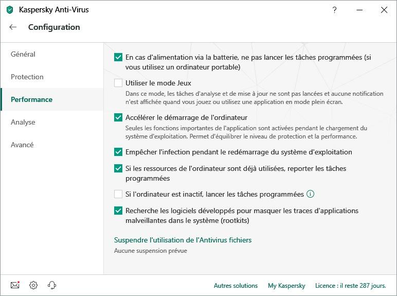 Kaspersky Anti-Virus screenshot 4