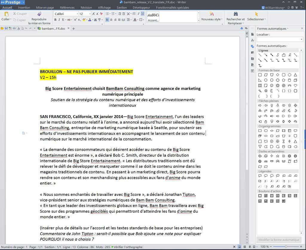 WPS Office Business Edition - (licence annuelle) screenshot 3