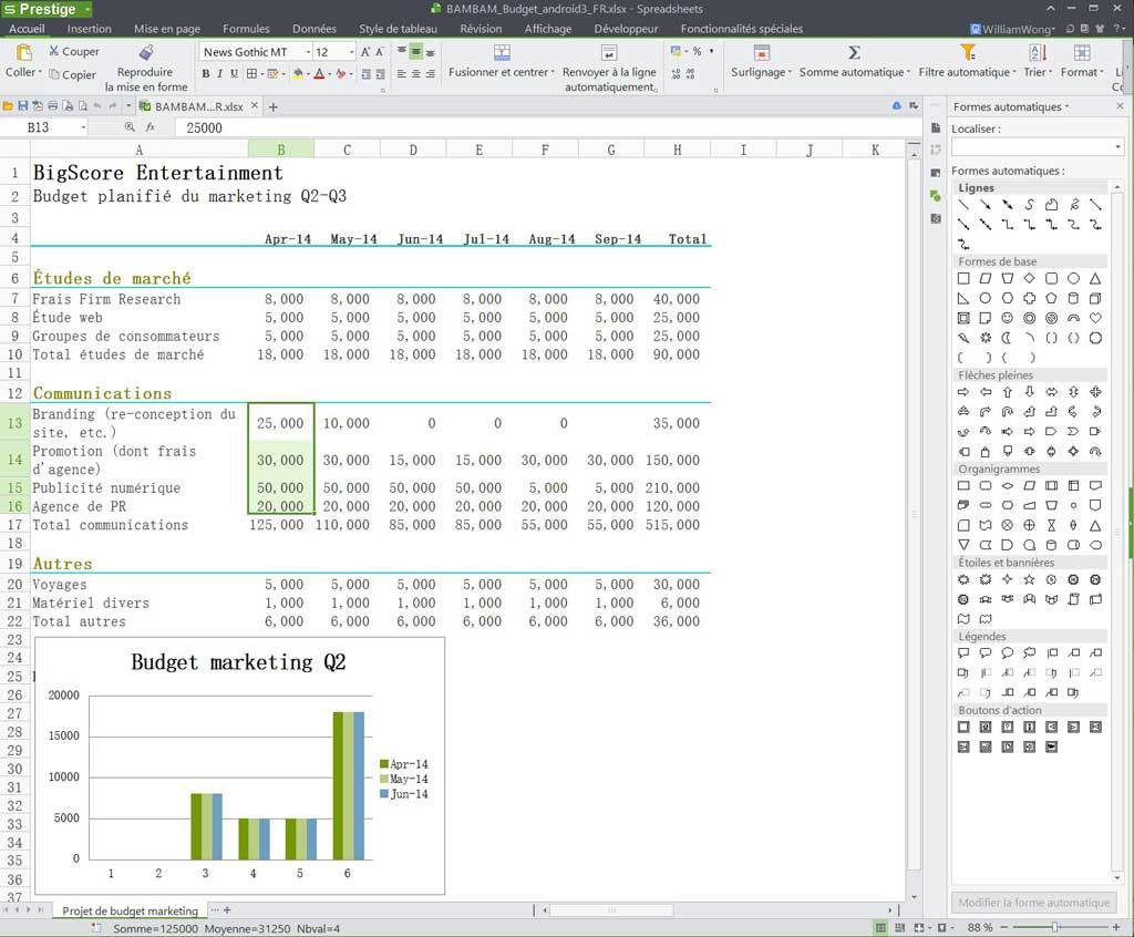 WPS Office Business Edition - (licence annuelle) screenshot 1
