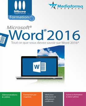 Formation à Word 2016