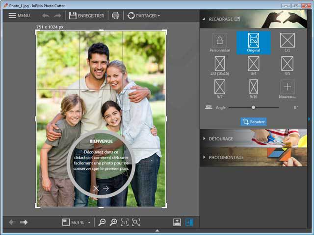 InPixio Photo Clip 7.0 screenshot 1