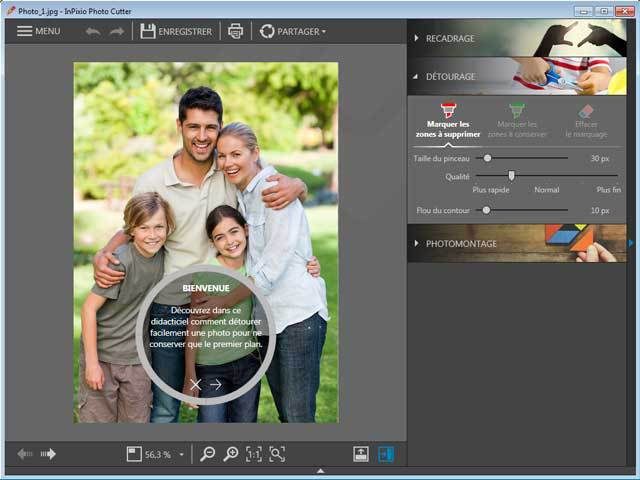 InPixio Photo Clip 7.0 screenshot 3
