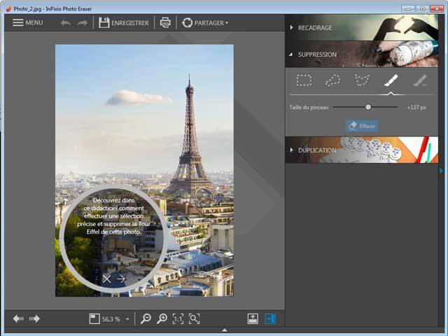 InPixio Photo Clip 7.0 screenshot 5