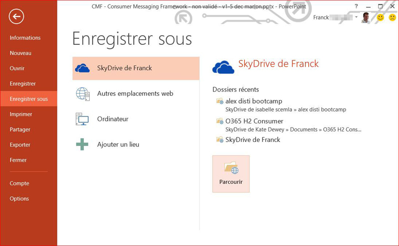 Microsoft Office 365 Famille screenshot 5