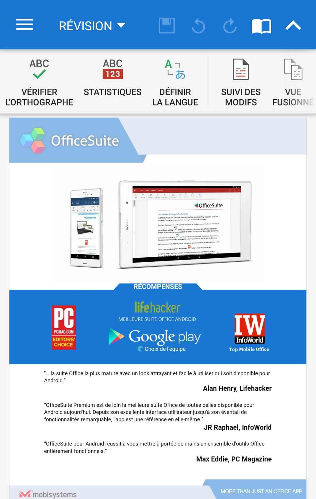 OfficeSuite Premium - 1 Year screenshot 1