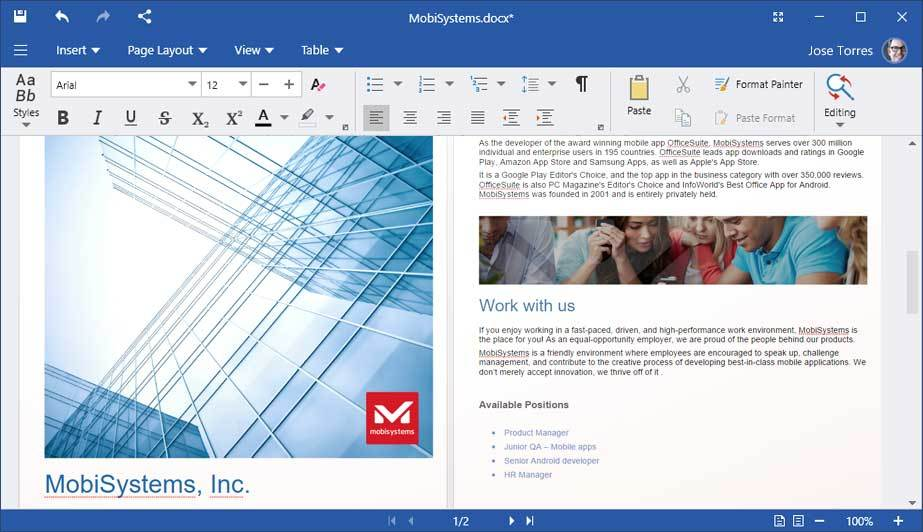 OfficeSuite Premium - 1 Year screenshot 11