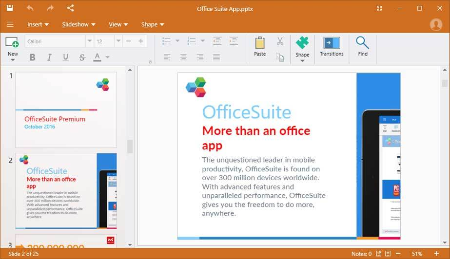OfficeSuite Premium - 1 Year screenshot 15