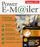 Power E-Mailer 4 Professionnel + High Impact Email 5 Professional