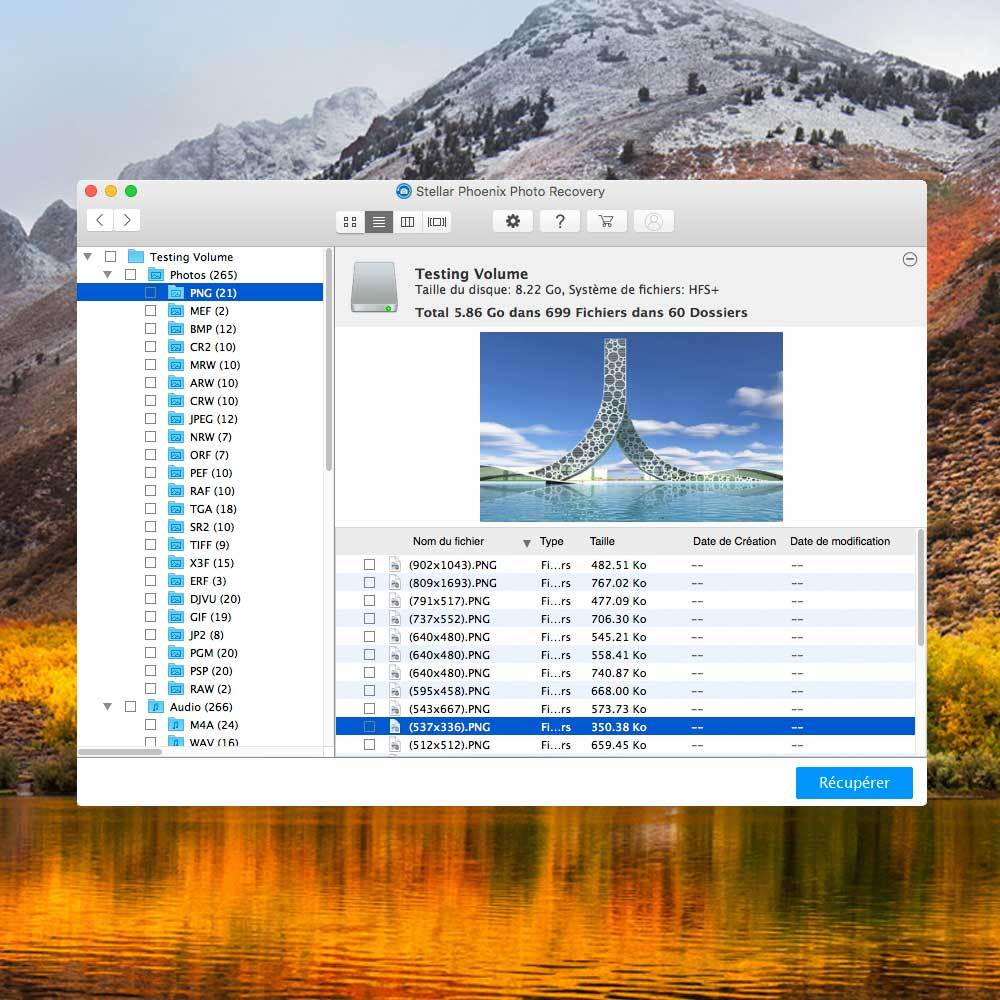 Stellar Phoenix Photo Recovery Mac V8 screenshot 4