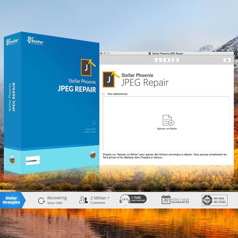 Stellar Phoenix JPEG Repair V5 Mac screenshot 1