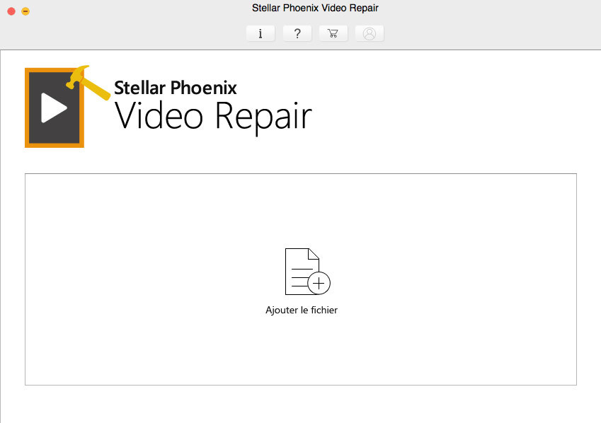 Stellar Phoenix Video Repair V3 Mac screenshot 1