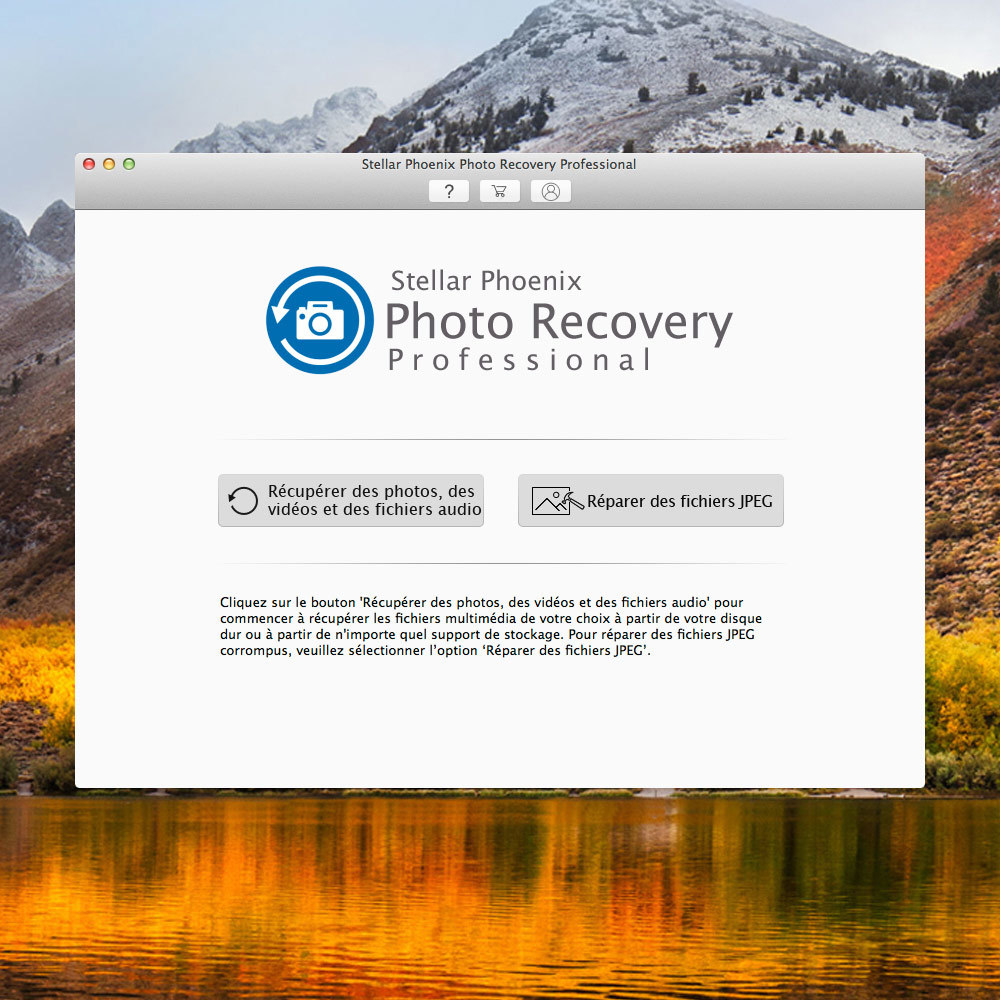 Stellar Phoenix Photo Recovery Professional (Mac) screenshot 1