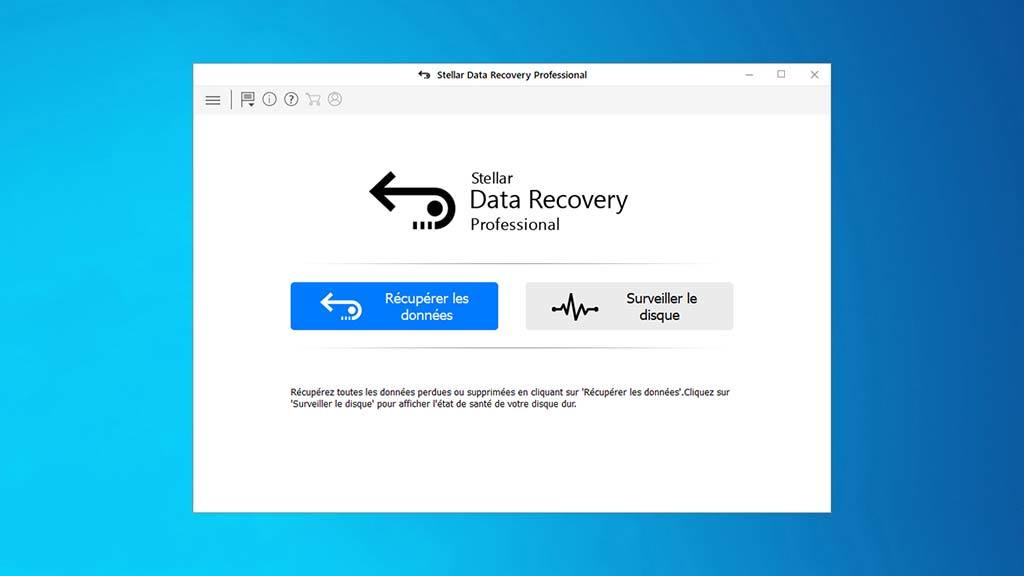 Stellar Data Recovery Software Windows Professional screenshot 1