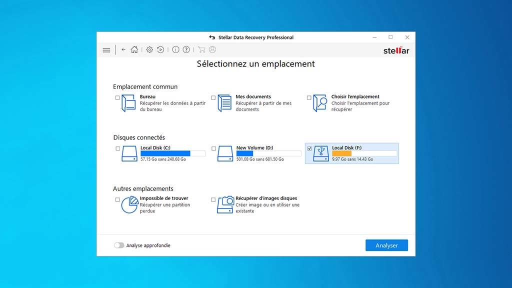 Stellar Data Recovery Software Windows Professional screenshot 3